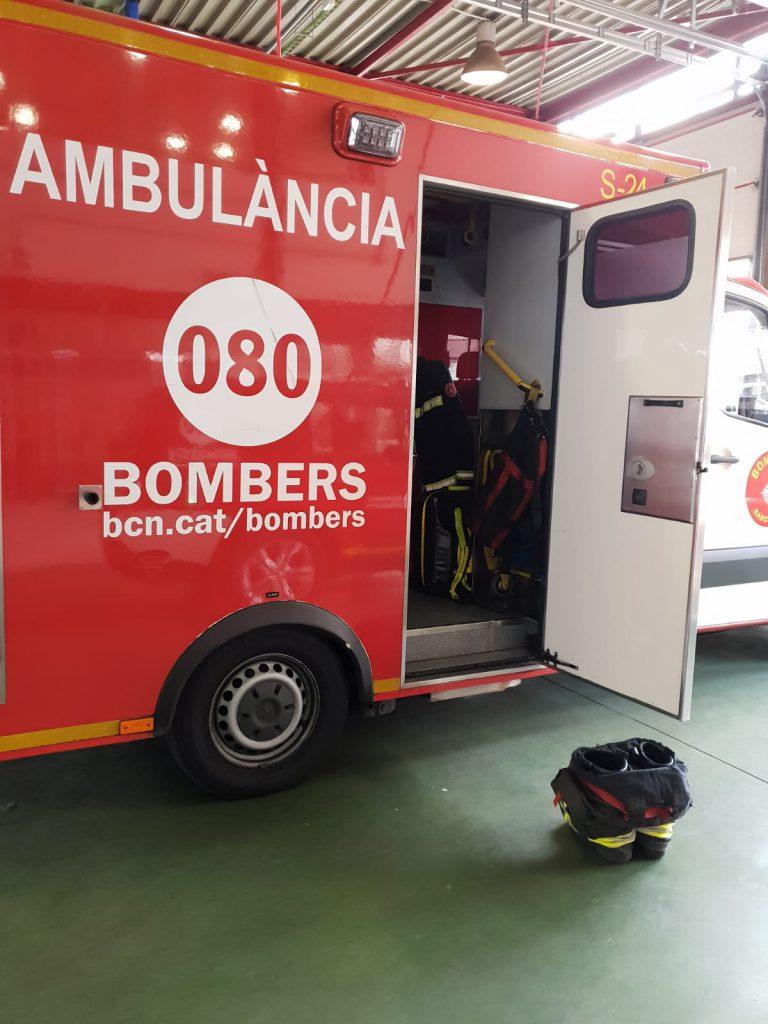 Denunciem la situació en la que es troba el cos de sanitaris/es de les i els Bombers de Barcelona